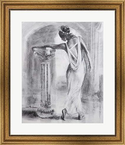 Amazon.com: Grecian Maiden by Steve Henderson Framed Art Print Wall ...