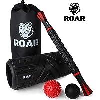 Roar® Foam Roller Kit Rodillo de Espuma para Ejercicios Musculares Masaje Muscular Rodillo de Yoga