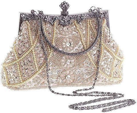 Women Ladies Front Glitter Effect Magnetic Closure Beautiful Clutch Wallet Purse
