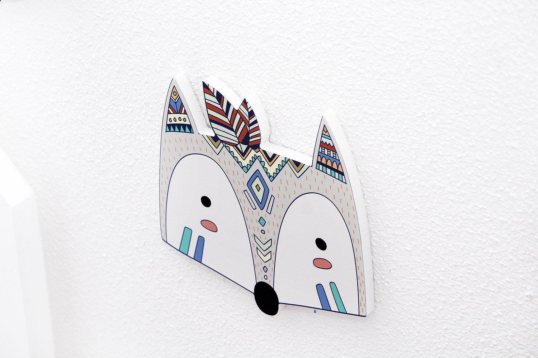 Luvel M12 Kinderzimmer 3d Wanddekoration Wandfiguren Wandtattoo
