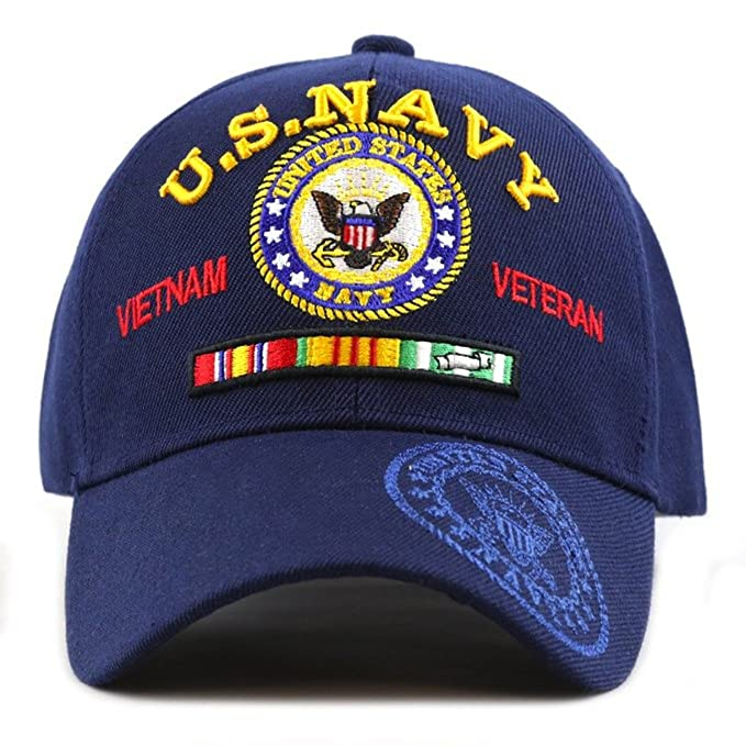 Navy Military Ball Caps