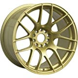 "XXR Wheels 530 Gold Wheel with Painted Finish (18x8.75""/5x100.5mm, +33mm offset)"