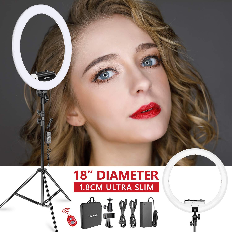Neewer Ring Light Kit 1.8cm Ultra Slim - Sin Fuente