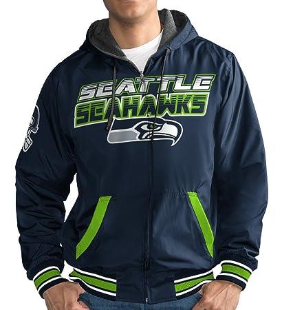 Image Unavailable. Image not available for. Color  Seattle Seahawks NFL  G-III Hot Shot Full Zip Men s Reversible Sweatshirt ecff6aa81
