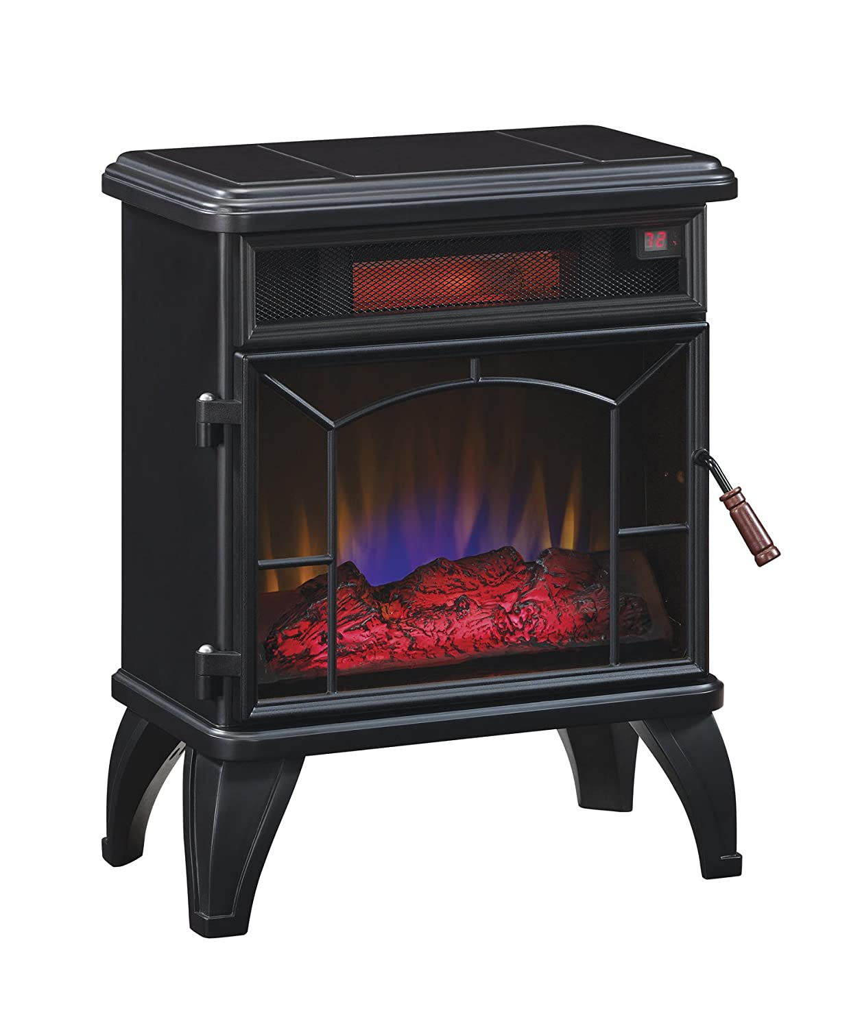 amazon com duraflame dfi 550 0 mason freestanding infrared quartz