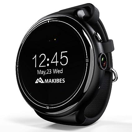 Amazon.com: ZMEETY Smartwatch 3G Smart Wrist Watch Phone 2GB ...