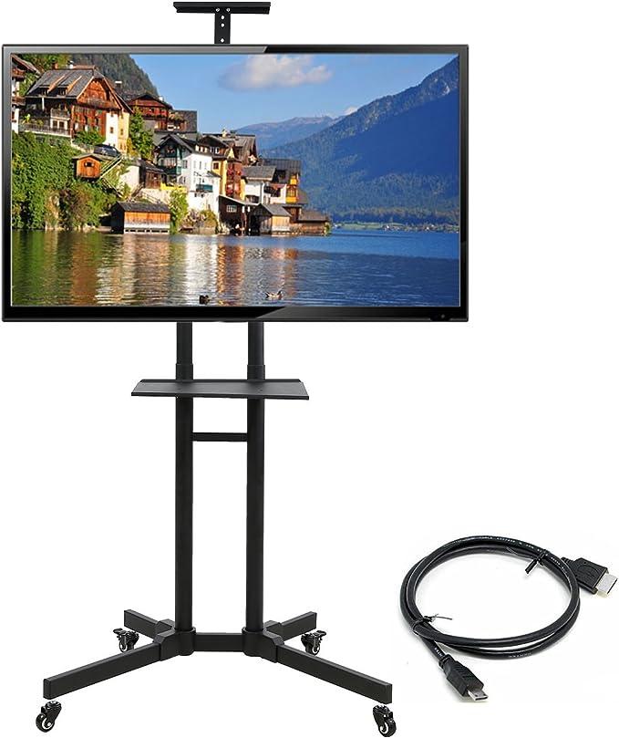 HDL - Soporte universal para televisores de 32 a 65 pulgadas (incluye soporte para pantallas planas), color negro: Amazon.es: Electrónica