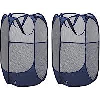 WD&CD Cestos para Lavandería Plegables 【2 Pack】 Plegable