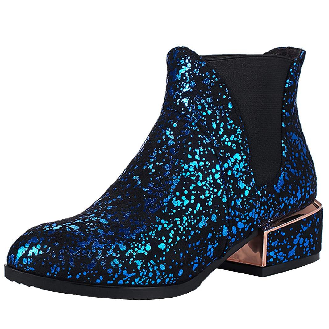 Mavirs 5.5 Womens Malice Block Heel Ankle-high 5.5 Mavirs cm Boots B07GLCFTXS Boots 8cda56