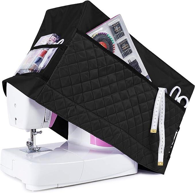 Rodis - Funda protectora para máquina de coser (con 3 bolsillos ...