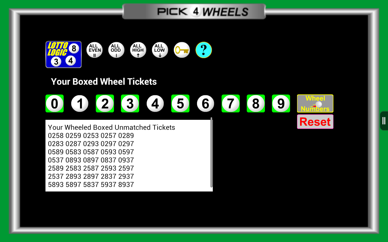 lotto number generator for today