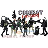 Military Combat Mission Special Forces Army Toy Soldiers Action Figures Playset