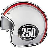 Black Smith Édition Limitée Casque Jet de Moto ou Scooter