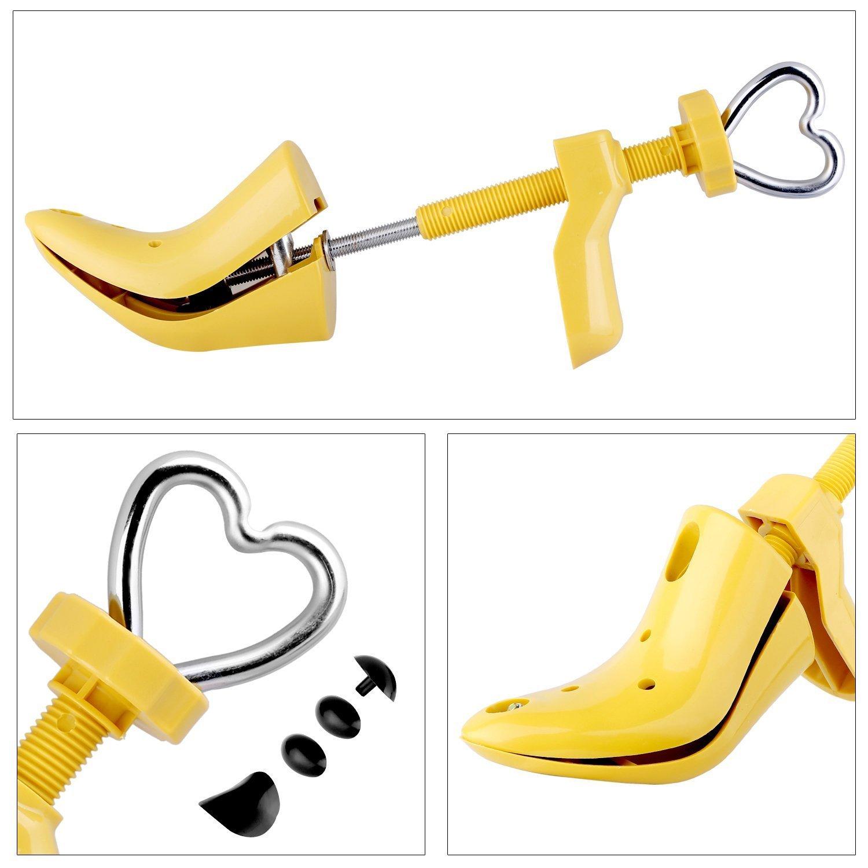 Youmang professionale alta barella scarpa inpasso espande l'altezza e la lunghezza di calzature-resistente in plastica OsyOw