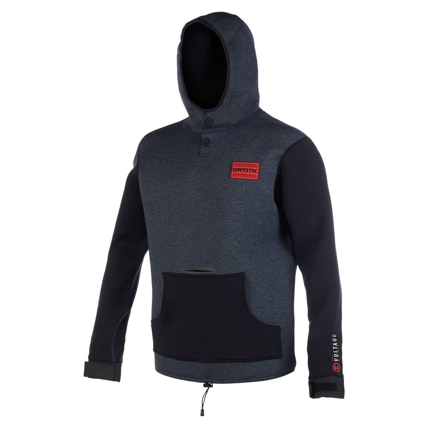 Mystic Watersports - Surf Kitesurfen & Windsurfen Voltage Sweat Neoprenanzug Hoodie Hoodie Jumper Navy rot B07MJW7RC7 Herren Starke Hitze- und HitzeBesteändigkeit