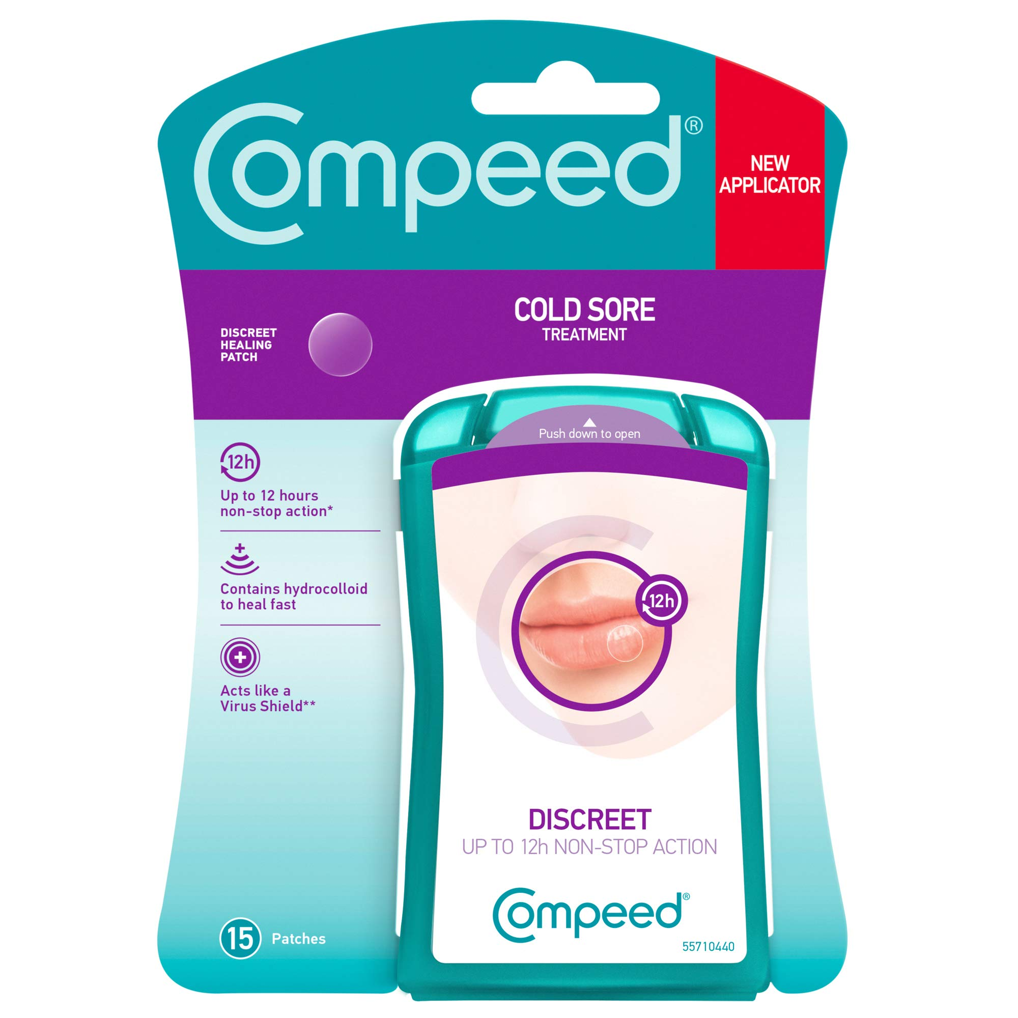 Compeed Cold Sore Patch 30 Patches ( Of 15 Patches) 2 Packs