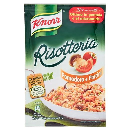 6 opinioni per Knorr- Risotteria, Pomodoro e Porcini- 15 pezzi da 175 g [2625 g]