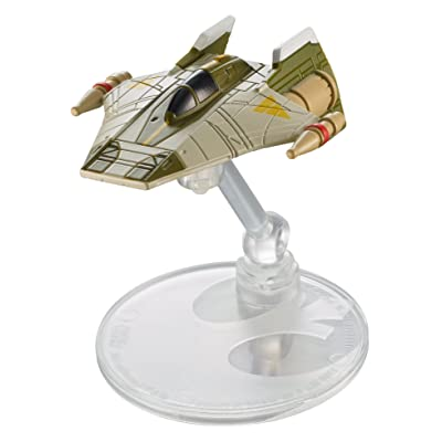 Hot Wheels Star Wars Starship A-Wing Fighter (Rebels): Toys & Games