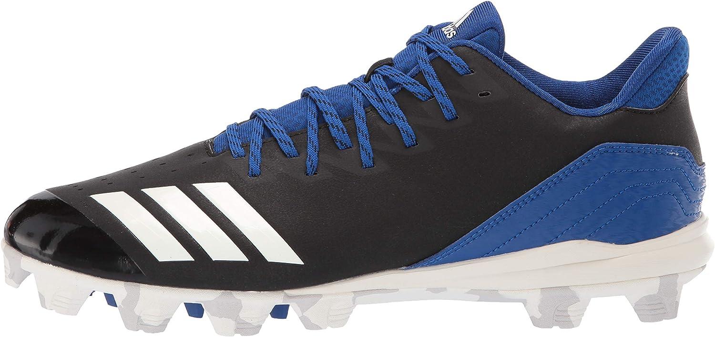 CG5258 adidas Icon 4 Md Black//White Baseball Shoes