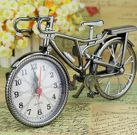 Hpybest - Reloj Despertador, Estilo Vintage, Retro, silencioso ...