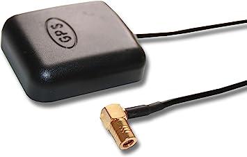 Antena GPS Activa Externa 5m con conexión coaxial SMB para VW ...