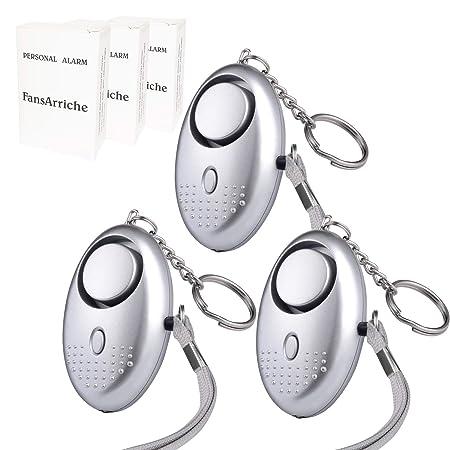 Fansarriche 3 Pack Fansarriche Personal Alarm Security Devices 130