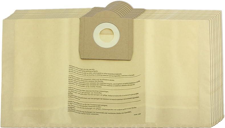 Spares2go fuertes bolsas de polvo para aspiradoras Parkside Lidl (Pack de 5, 10, 15, 20 + ambientadores) 5 Bags: Amazon.es: Hogar
