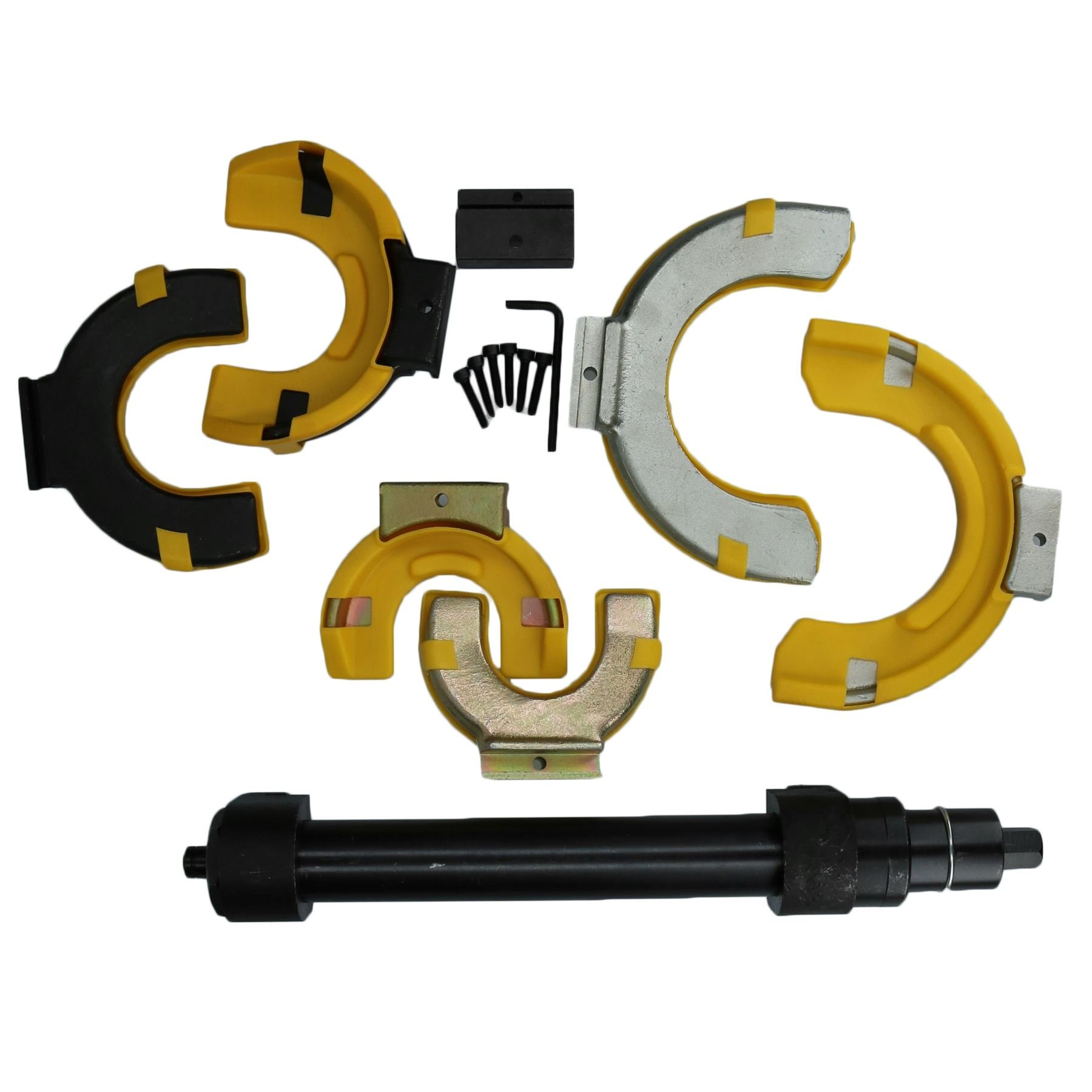 AB Tools-Toolzone McPherson Spring Compressor Coil Clamp Tuning Car Struts Suspension 65-212mm by AB Tools-Toolzone (Image #3)