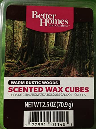 excellent better homes and gardens scented wax cubes. Better Homes and Gardens Warm Rustic Woods Scented Wax Cubes Amazon com