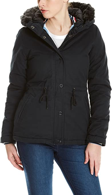 TALLA S. Bench Padded Jacket with Fur Lining Chaqueta para Mujer