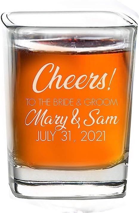 bridesmaids gift Wedding Shot Glasses Custom Shot Glasses Wedding Favors Shot Glass Personalized Shot Shot Glasses Custom Shot Glass