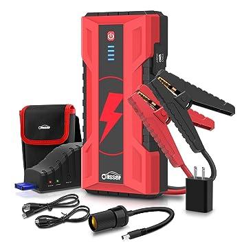 Amazon.com: Oasser - Arrancador de batería para coche (1000 ...