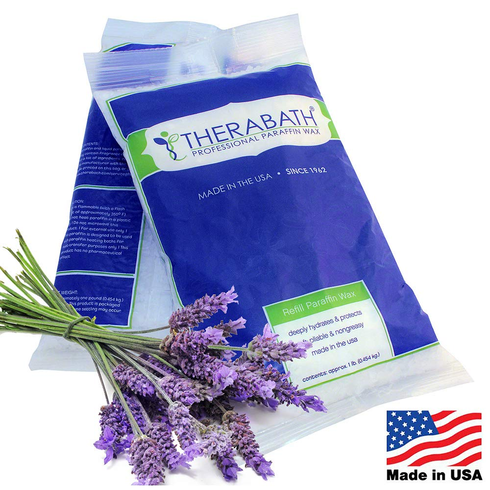 Therabath Paraffin Wax Refill - Use To Relieve Arthitis Pain and Stiff Muscles - Deeply Hydrates and Protects - 6 lbs (Lavender Harmony) : Paraffin Baths : Beauty
