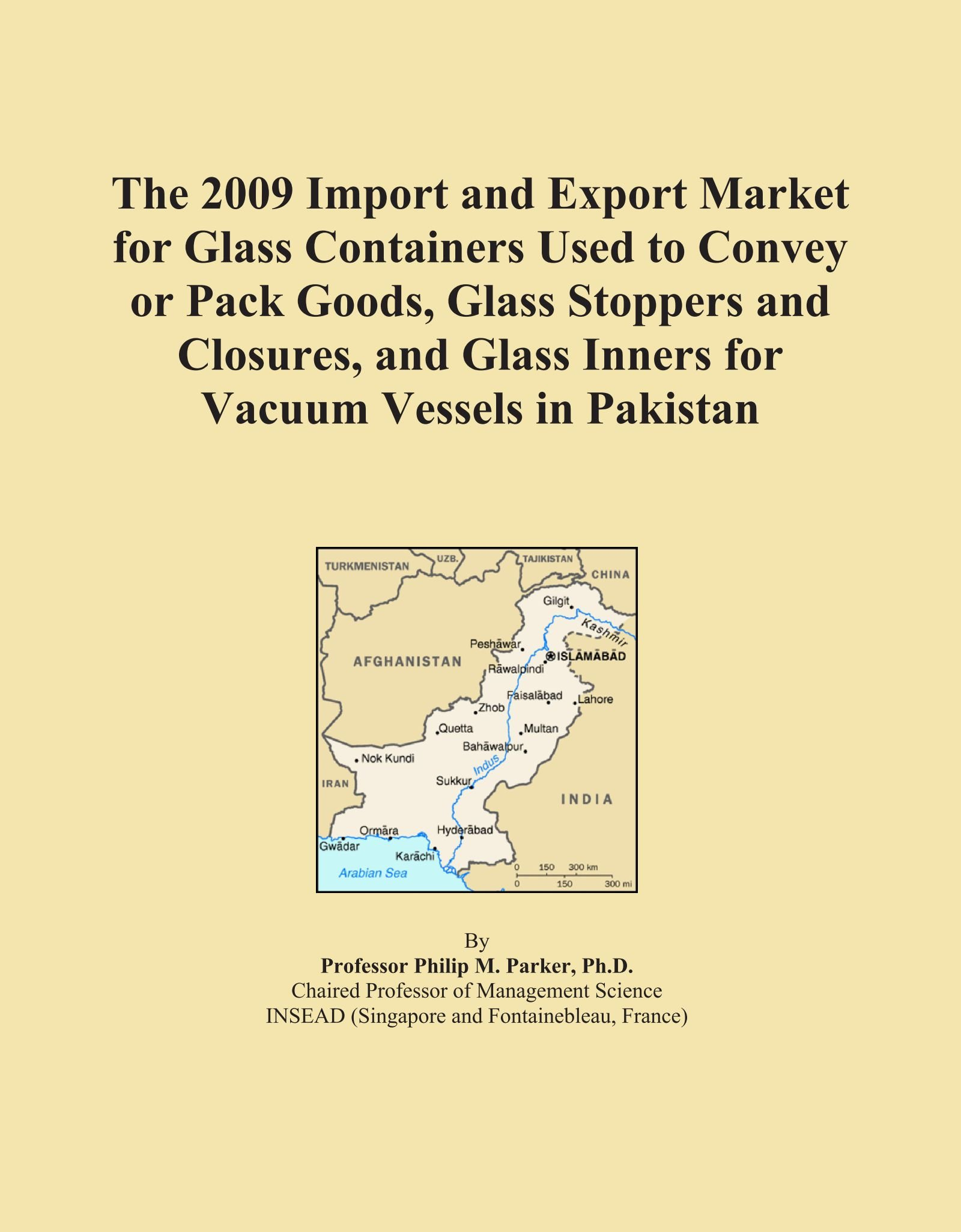 Download The 2009 Import and Export Market for Glass Containers Used to Convey or Pack Goods, Glass Stoppers and Closures, and Glass Inners for Vacuum Vessels in Pakistan PDF