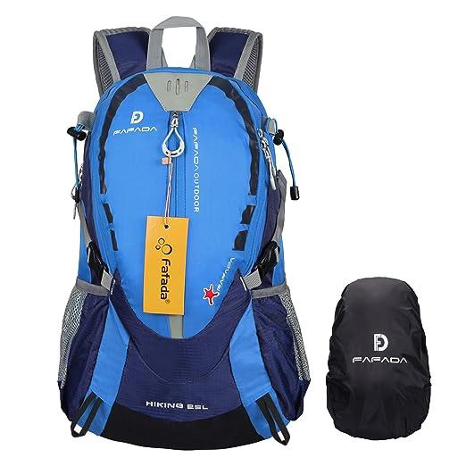 36 opinioni per Fafada 25L Impermeabile Zaino di Hiking Trekking Campeggio Viaggi Camping