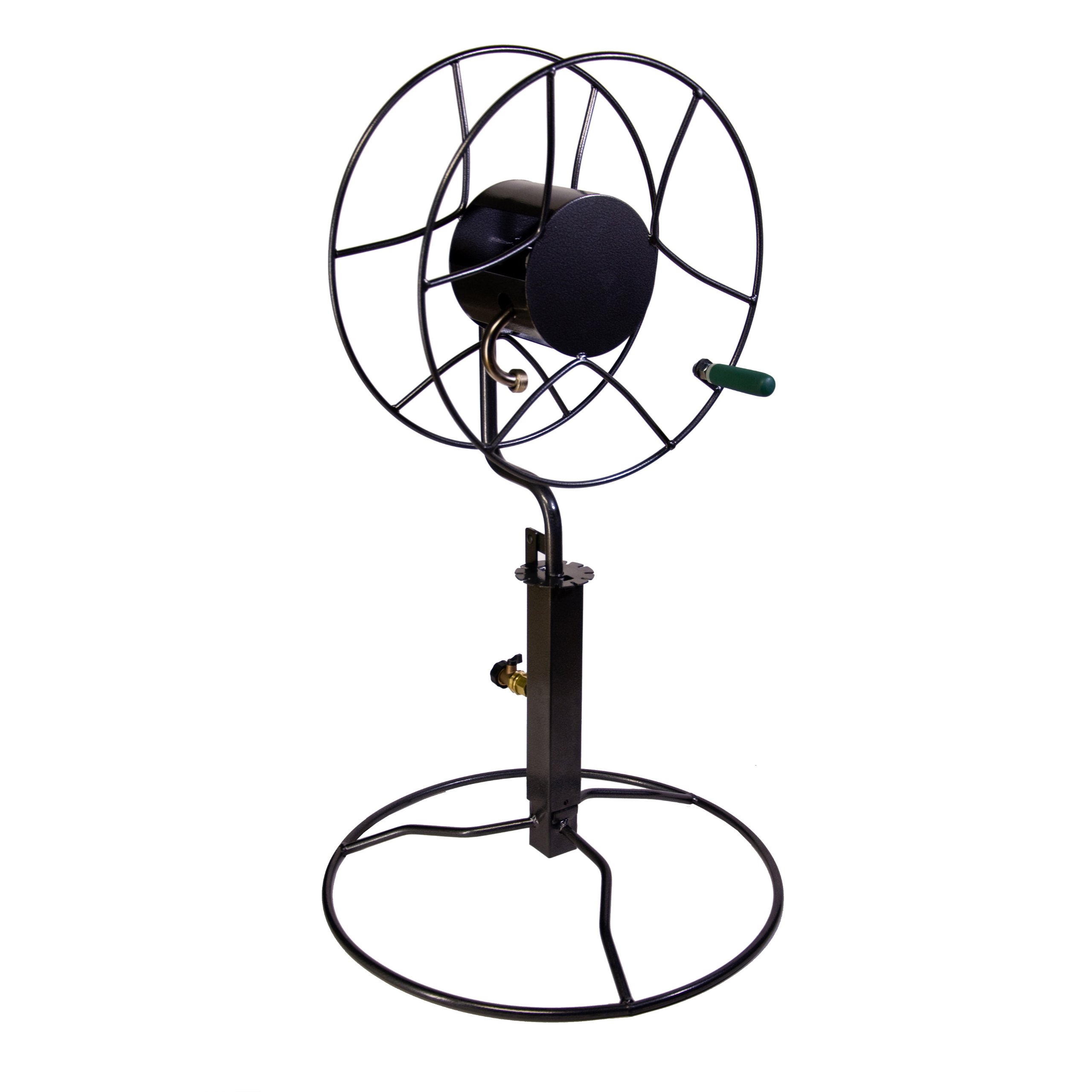Yard Butler ISRPB-360 Free-Standing Hose Reel with Patio Base