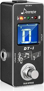 Donner Dt-1 Chromatic Guitar Tuner Pedal
