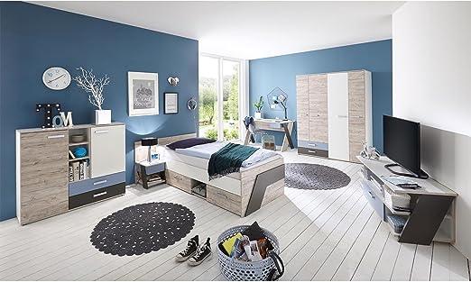 Jugendzimmer komplett Set Kinderzimmer Schlafzimmer Möbel \