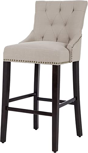 NOBPEINT 30 inch Bar Stool