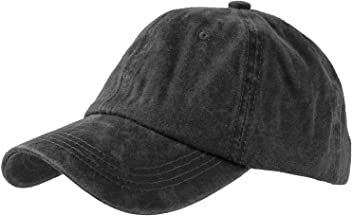 4f4df44f0d5 Levine Hat Unisex Stone Washed Cotton Baseball Cap Adjustable Size (7+  Colors)