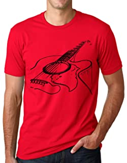 5d0af269 Think Out Loud Apparel Acoustic Guitar Shirt Cool Musician Tee T Shirt
