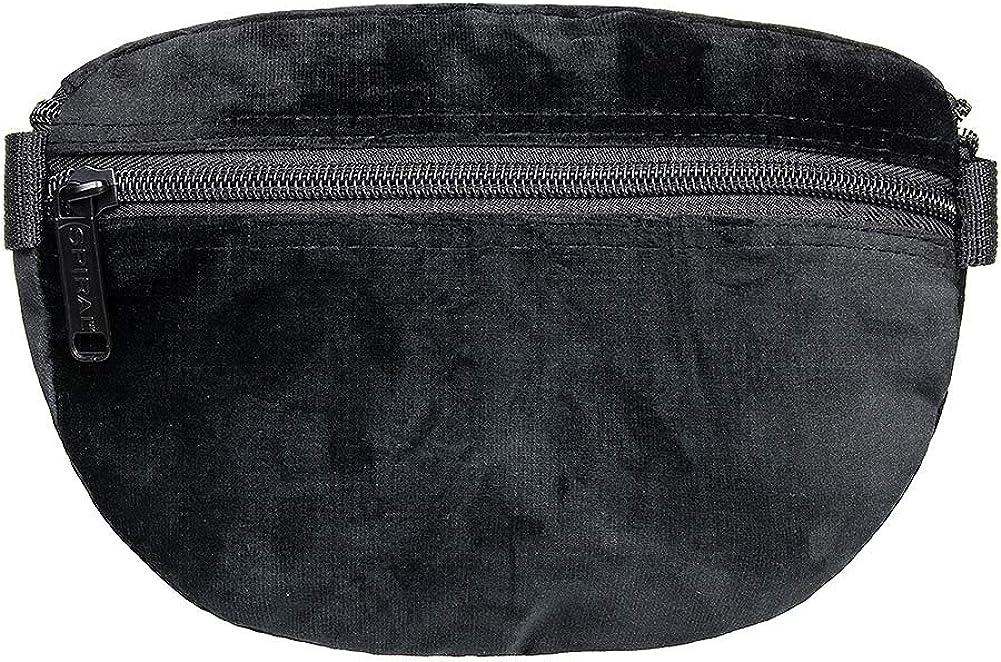 Spiral Velvet Bum Bag