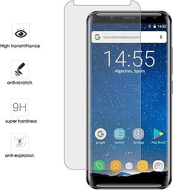 Tumundosmartphone Protector Cristal Templado para OUKITEL K5000 Vidrio: Amazon.es: Electrónica