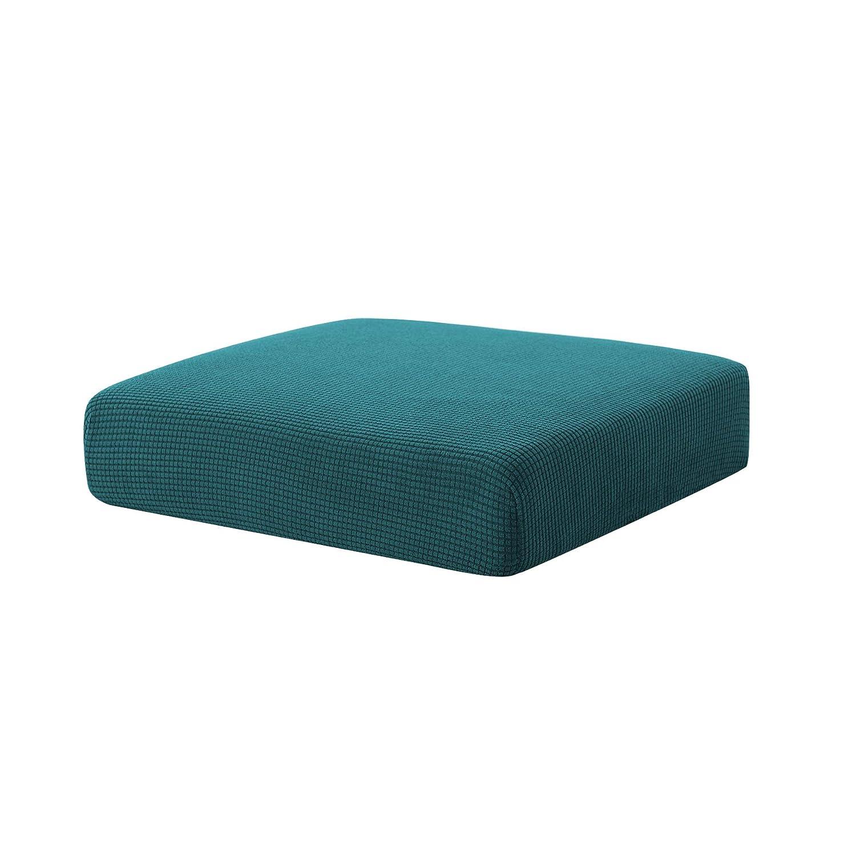 Hokway Sofa Cushion Slipcovers Stretch Spandex Cushion Protector Slipcovers (Teal, Chair Cushion)