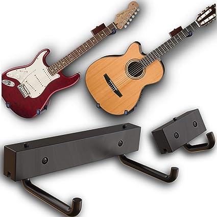 rawrock horizontal guitarra percha pantalla de inclinación y su ...