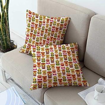 Amazon.com: Ediyuneth - Funda de cojín para sofá, diseño de ...