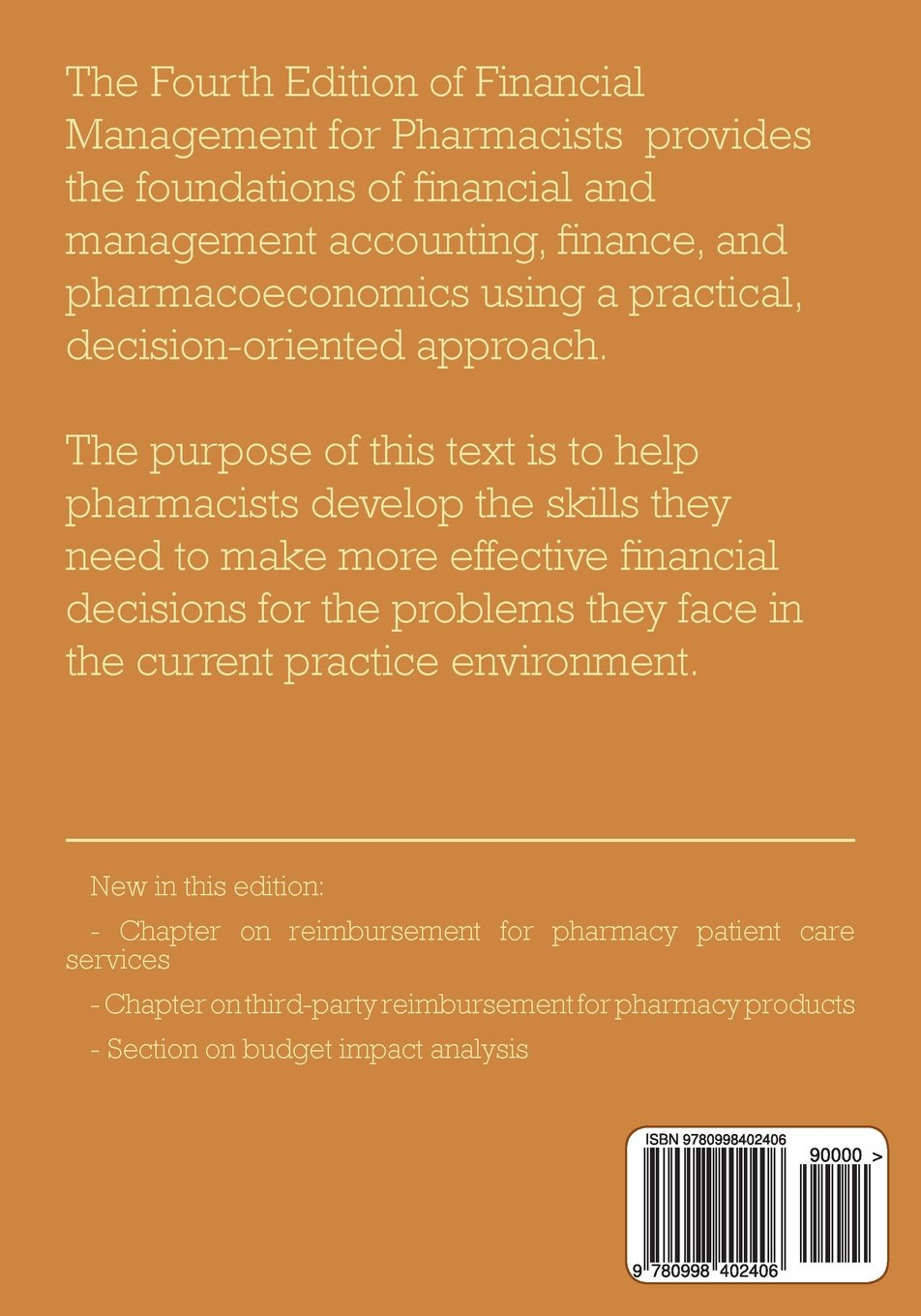 Financial management for pharmacists a decision making approach financial management for pharmacists a decision making approach norman v carroll phd 9780998402406 amazon books fandeluxe Choice Image