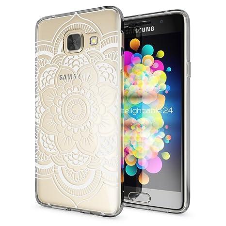 Samsung Galaxy A5 2017 Funda Carcasa de NALIA, Protectora Movil TPU Silicona Ultra-Fina Gel Transparente, Cubierta Goma Bumper Cover Case Clear para ...