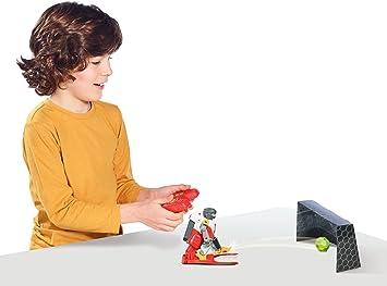 TOMY Soccer Borg Robot Juguetes para niños – Mando a LSM900LED Robot de Juguete a Partir de 6 años – Dos Fútbol Robot con Toren, Pelotas y Pegatinas para Personalizar: Amazon.es: Juguetes