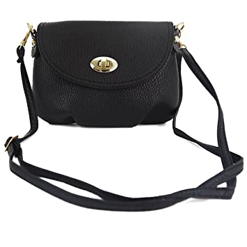 Amazon.com   Girl adies Mini SMALL Handbag Envelope Crossbody Shoulder  Messenger Totes Bag Purse 1ce262bed2a14